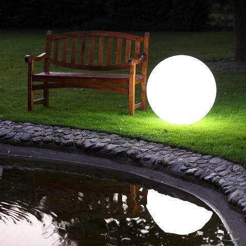 Linea Light Kugelleuchte aus Polyethylen - bruch-beständig - Ø 75cm Oh 15164 | Lampen > Tischleuchten > Kugelleuchten | Polyethylen | Linea Light