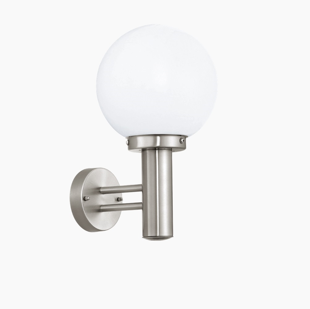Kugelleuchte Wandlampe Aluminium