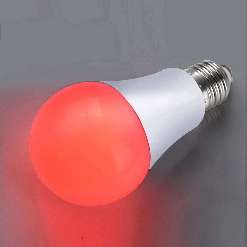 LED A60 AGL 4W  E27 Rot
