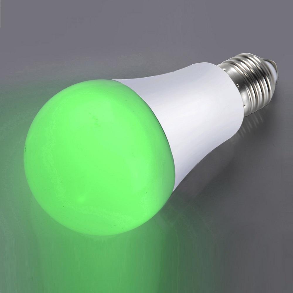 Leuchten Direkt LED A60 AGL 5,5W E27 Grün 08132-43