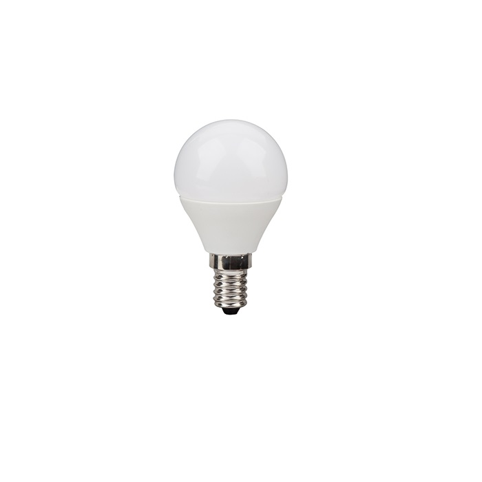 LED D45 E14 Leuchtmittel in Tropfenform  2700 Kelvin dimmbar - 2 Wattagen