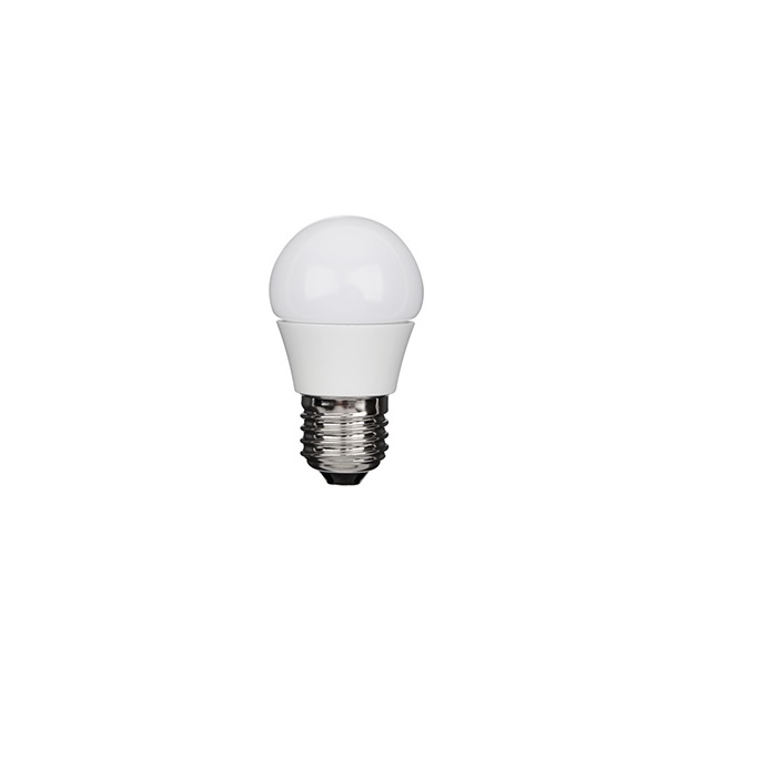 LED D45 E27 Leuchtmittel in Tropfenform  2700 Kelvin dimmbar - 2 Wattagen