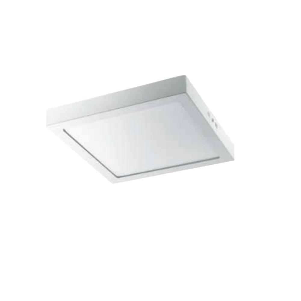 LED Deckenleuchte - 18Watt - weiß - eckig