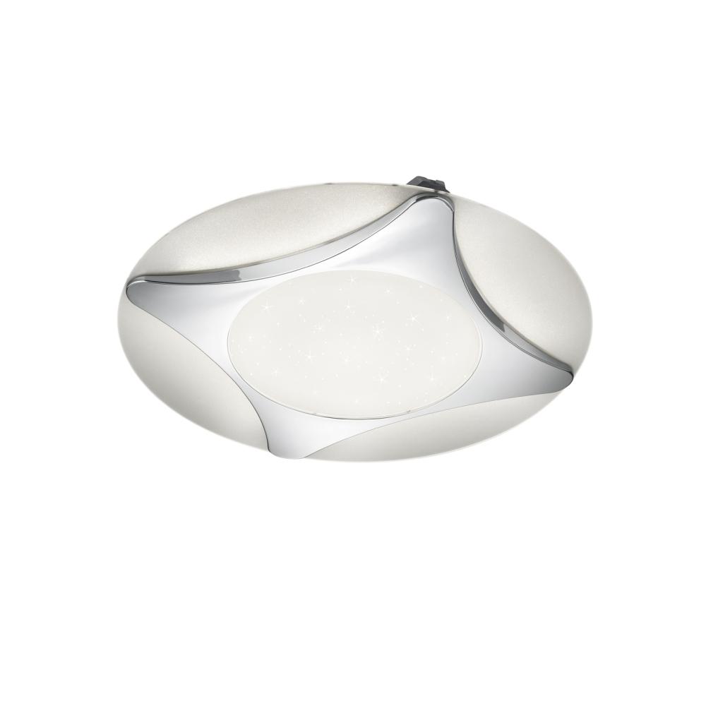 LED Deckenleuchte, Sternenhimmeleffekt, D 60 cm, inkl. Fernbedienung