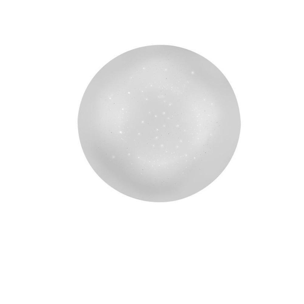 LED Deckenleuchte, Sternenhimmel, rund, warmweiß, D=25cm