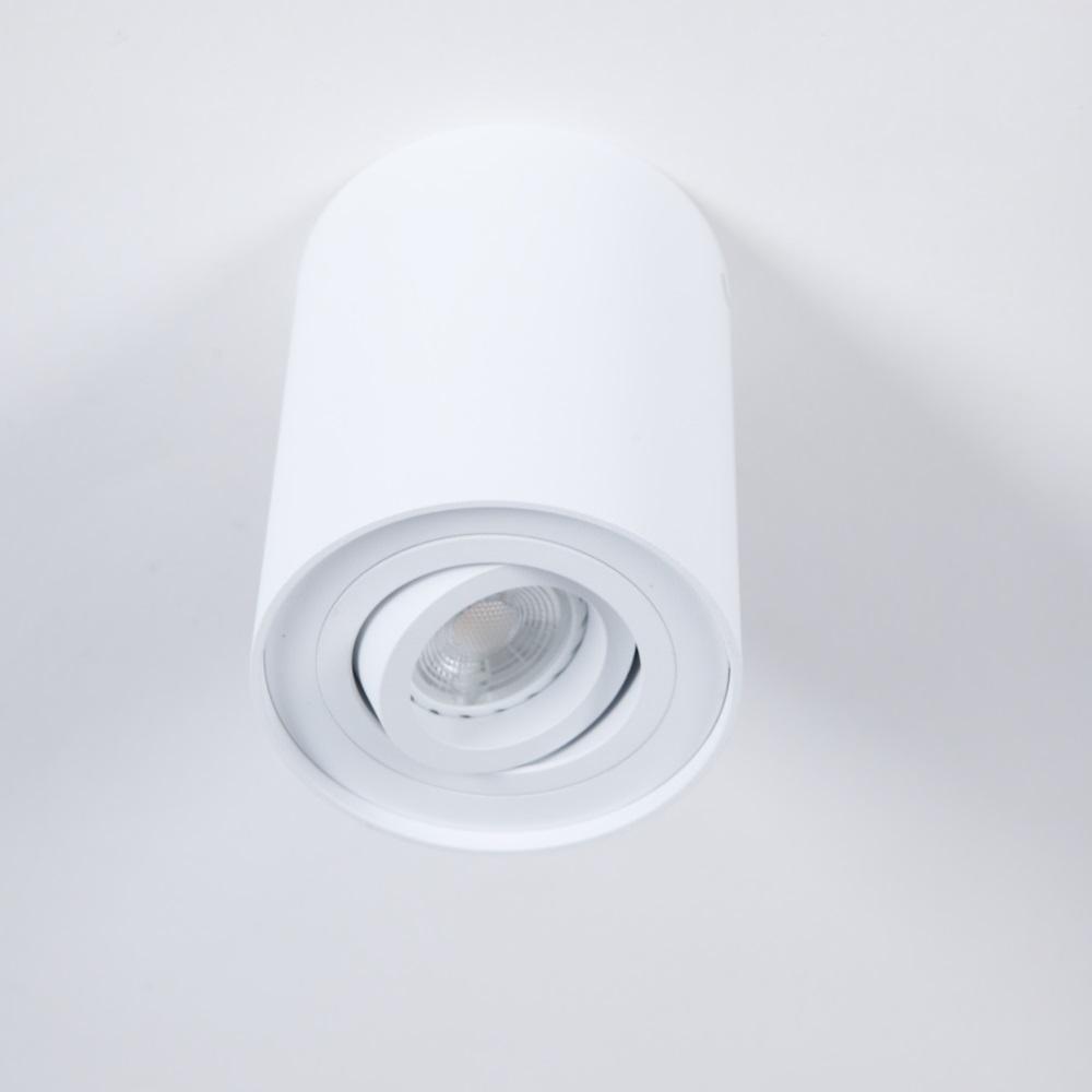 LHG LED Deckenstrahler, Downlight, Aluminium Weiß, verstellbar, rund