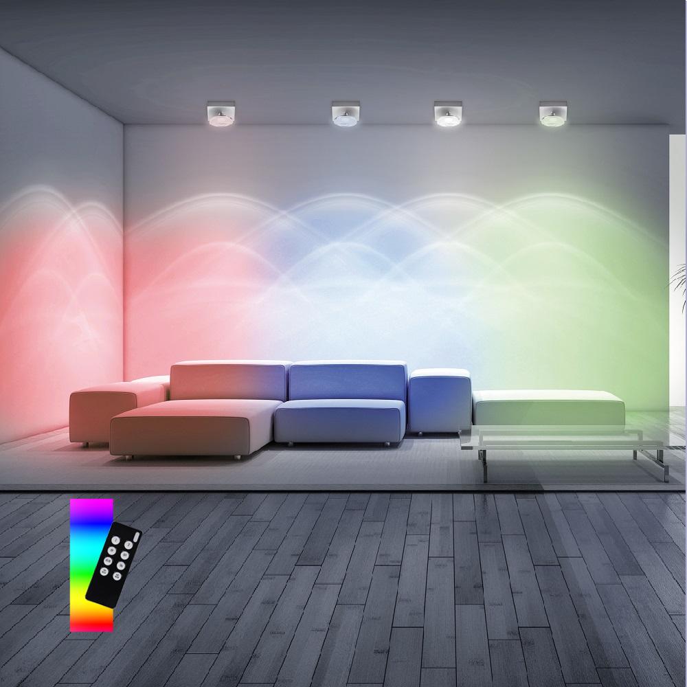 LED Deckenstrahler, Smart Home, Q®, ZigBee, Alexa tauglich, dimmbar