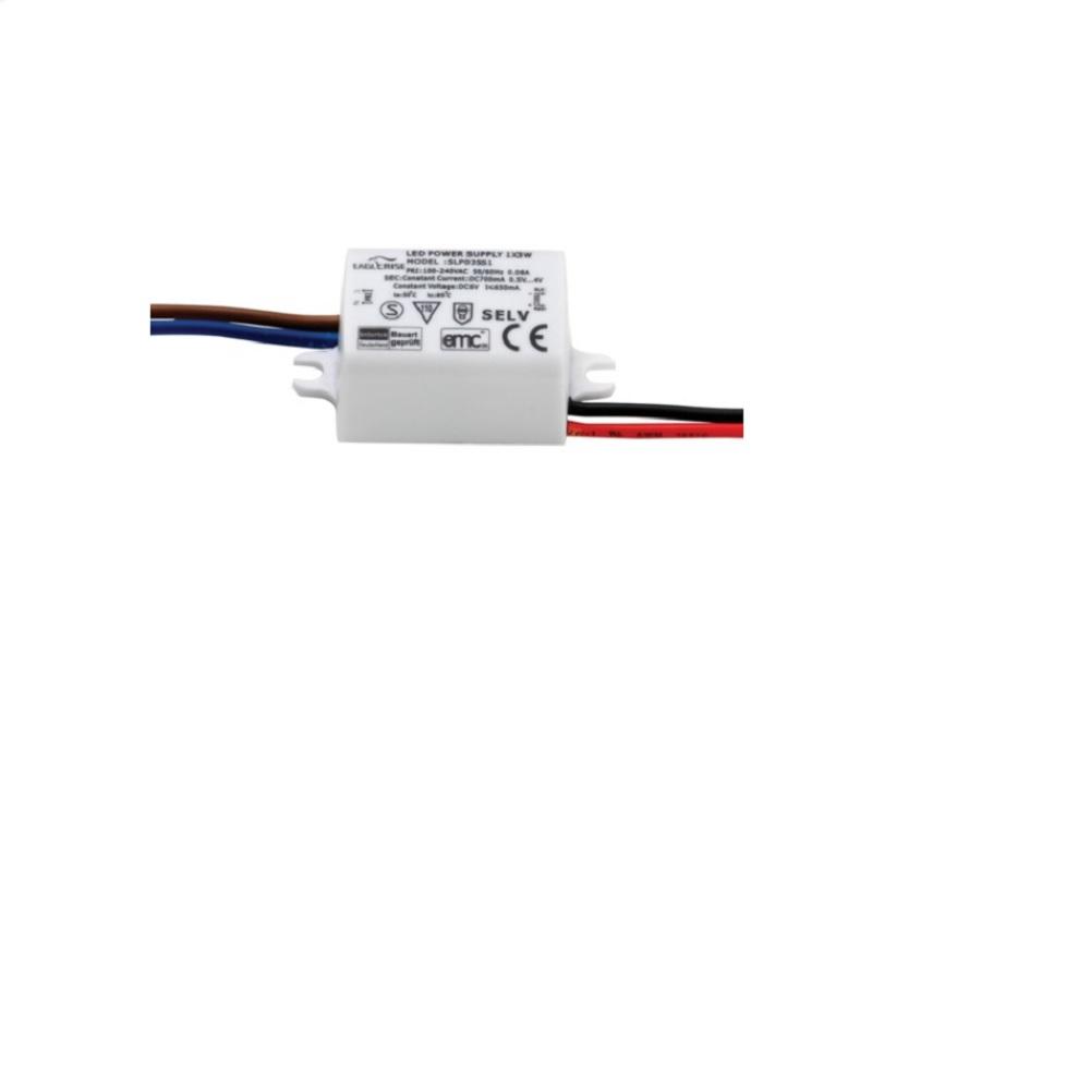 LED Driver 700mA 3W  für  LED-Einbauwandleuchte, IP 65