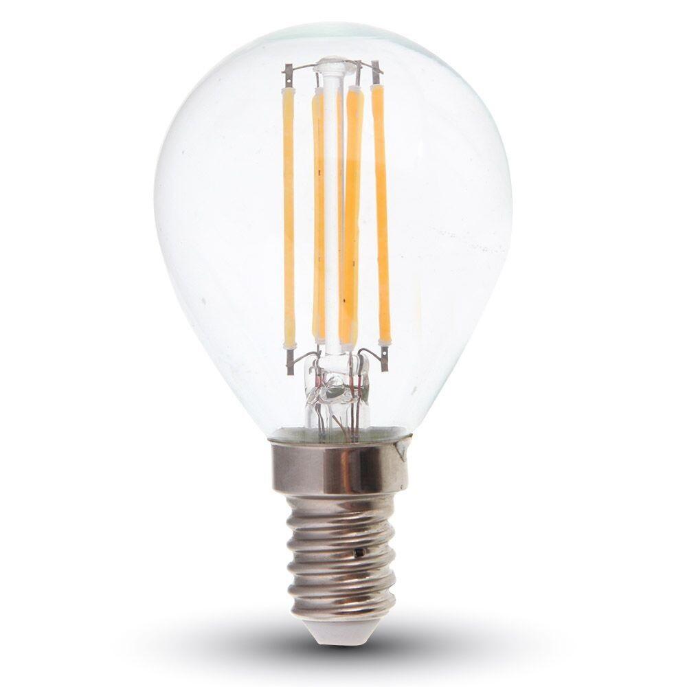 LED E14 Tropfen 4 Watt 320 Lumen 2700 Kelvin Filament