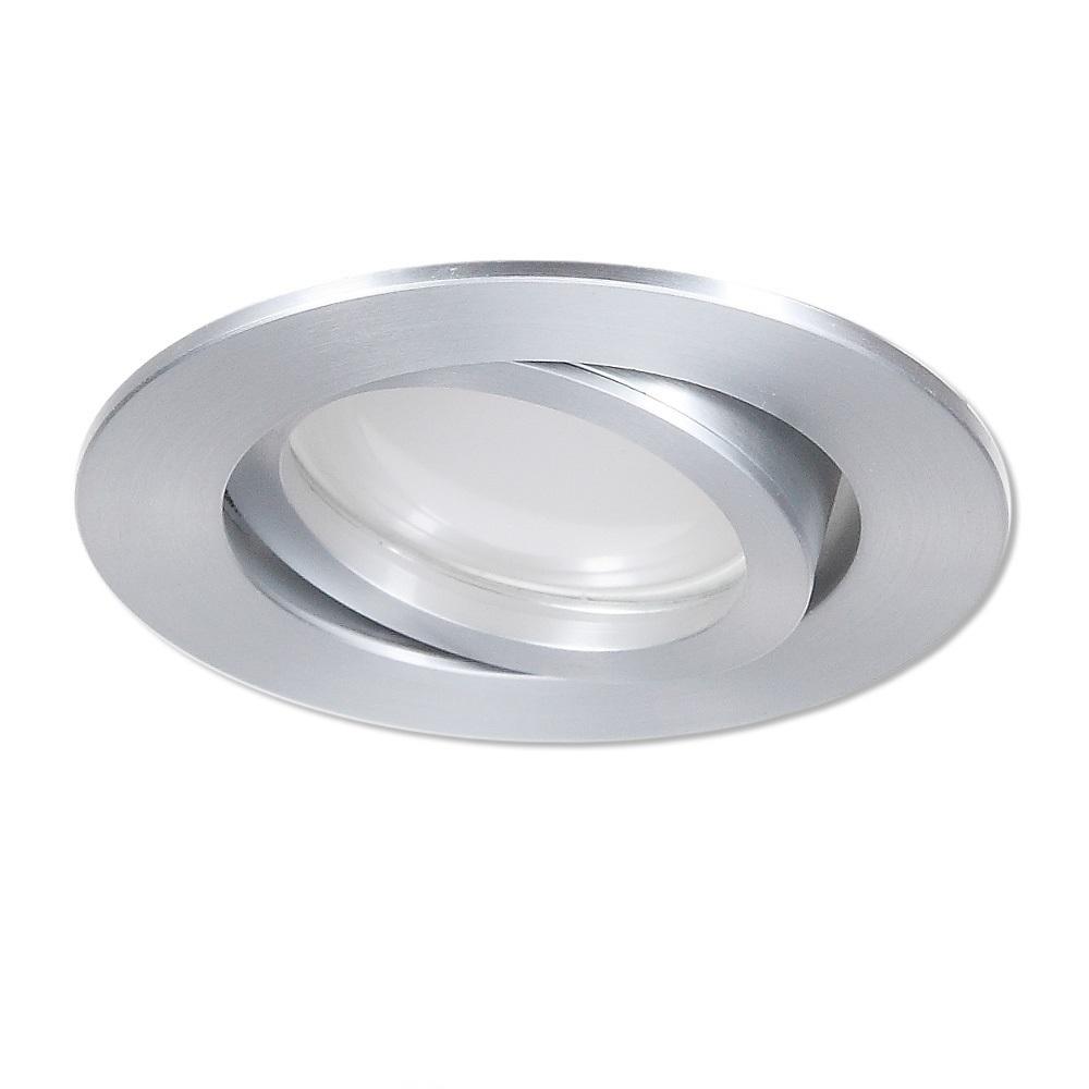 LHG LED Einbaustrahler Aluminium rund 4-fach dimmbar 116344   Lampen > Strahler und Systeme > Einbaustrahler   Aluminium   LHG