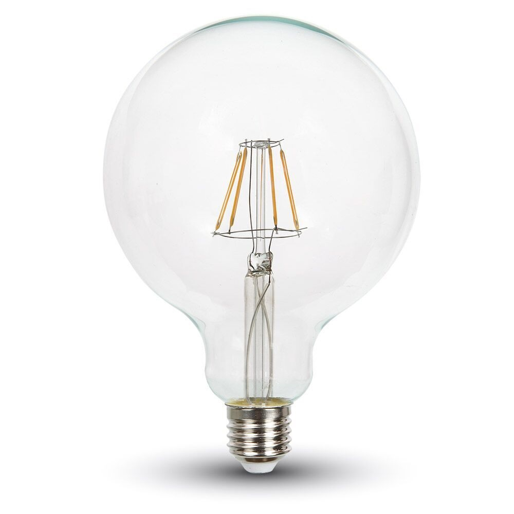 LED Filament Globe Leuchtmittel E27 6 Watt 550 Lumen