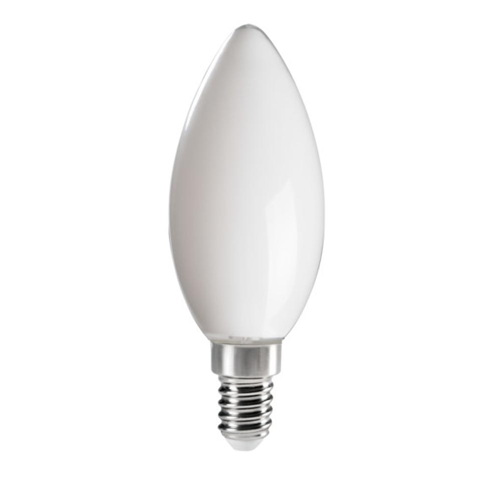LED Leuchtmittel, E14, Kerzenform, weiß, warmweiß, 4,5W