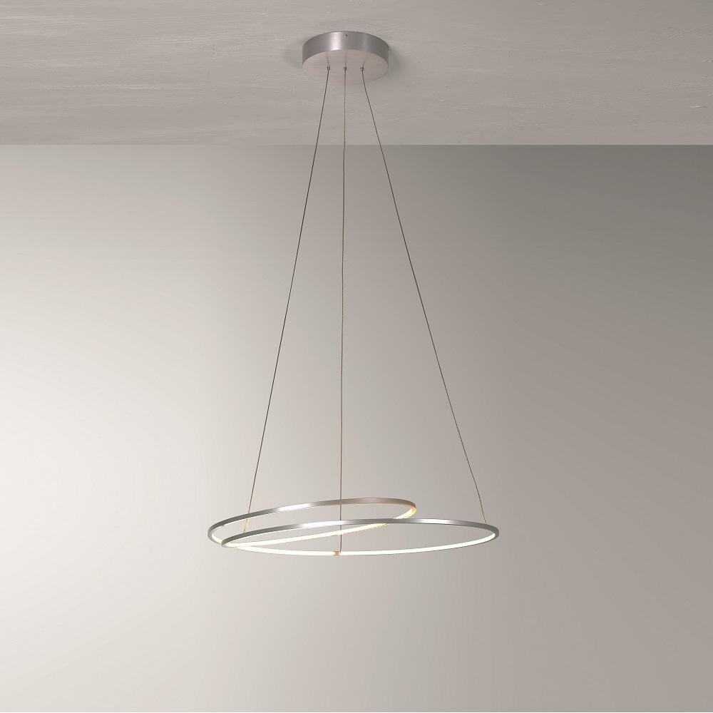 LED Pendelleuchte AT mit umlaufendem LED Band - Ø 45 cm