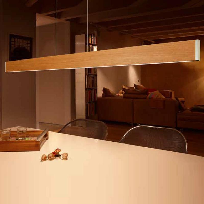 LED Pendelleuchte Oak