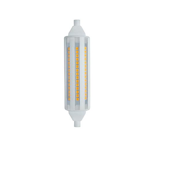 LED R7s Stab 117 mm mit 14 Watt 1200 Lumen 2700 Kelvin - dimmbar