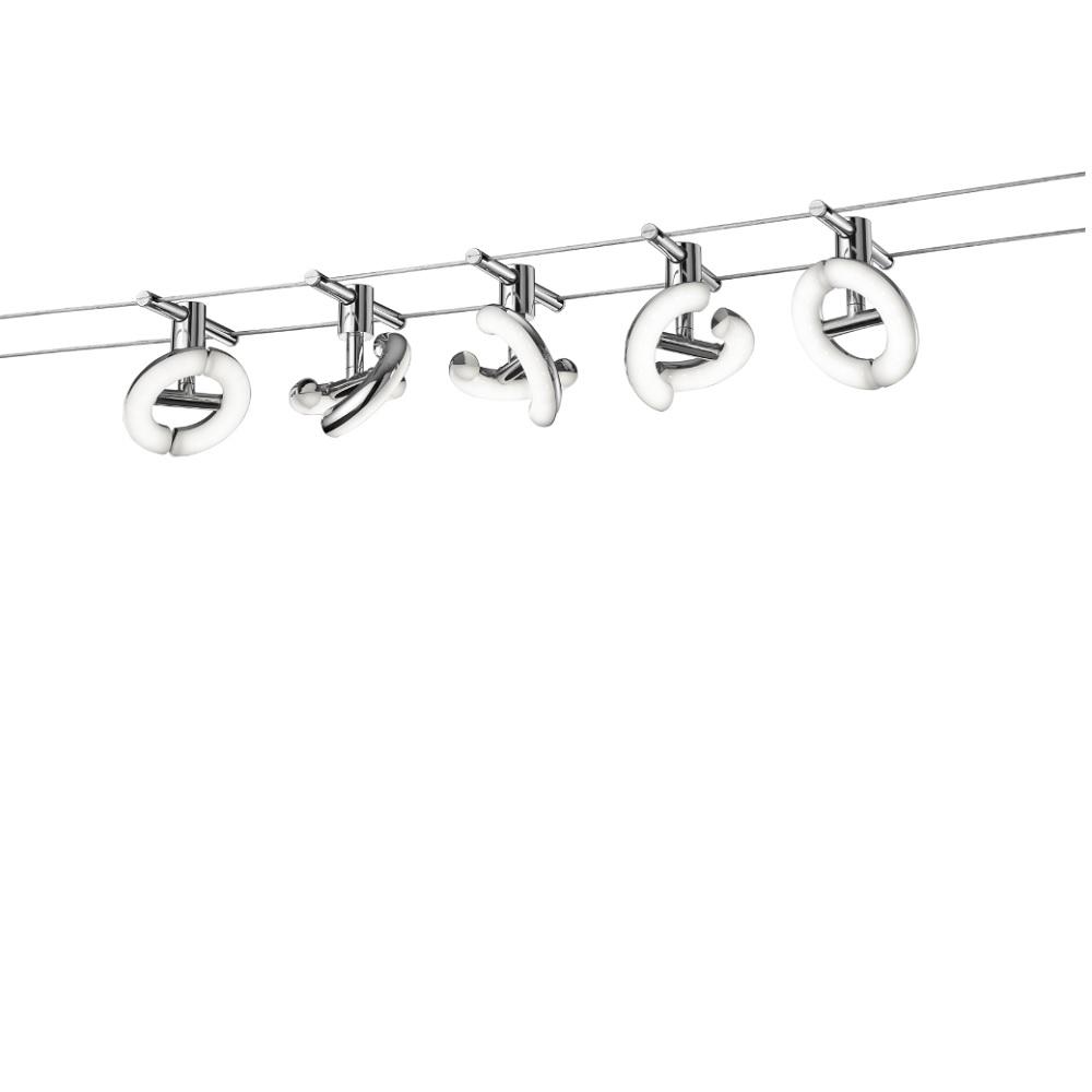 Trio LED Seilsystem Avignon komplett 777710506 | Lampen > Strahler und Systeme > Seilsysteme | Trio