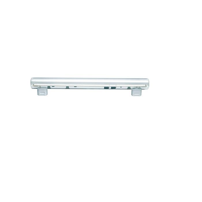 LED Stablampe klar S14s 2-Sockel Made in Germany - 2 Längen