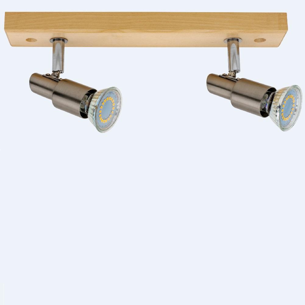Spot-Light LED Strahler Classic Wood in Eiche E...