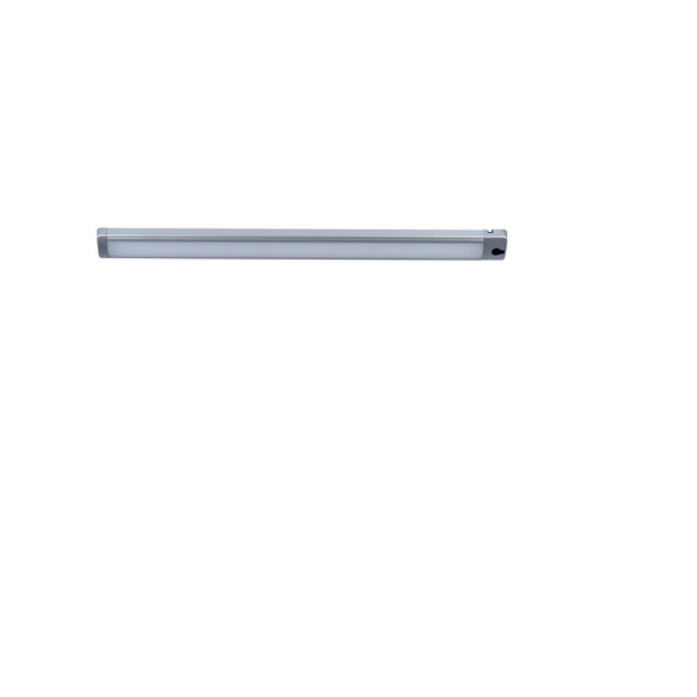LED Unterschrank-Linienleuchte, Bewegungssensor, Aluminium