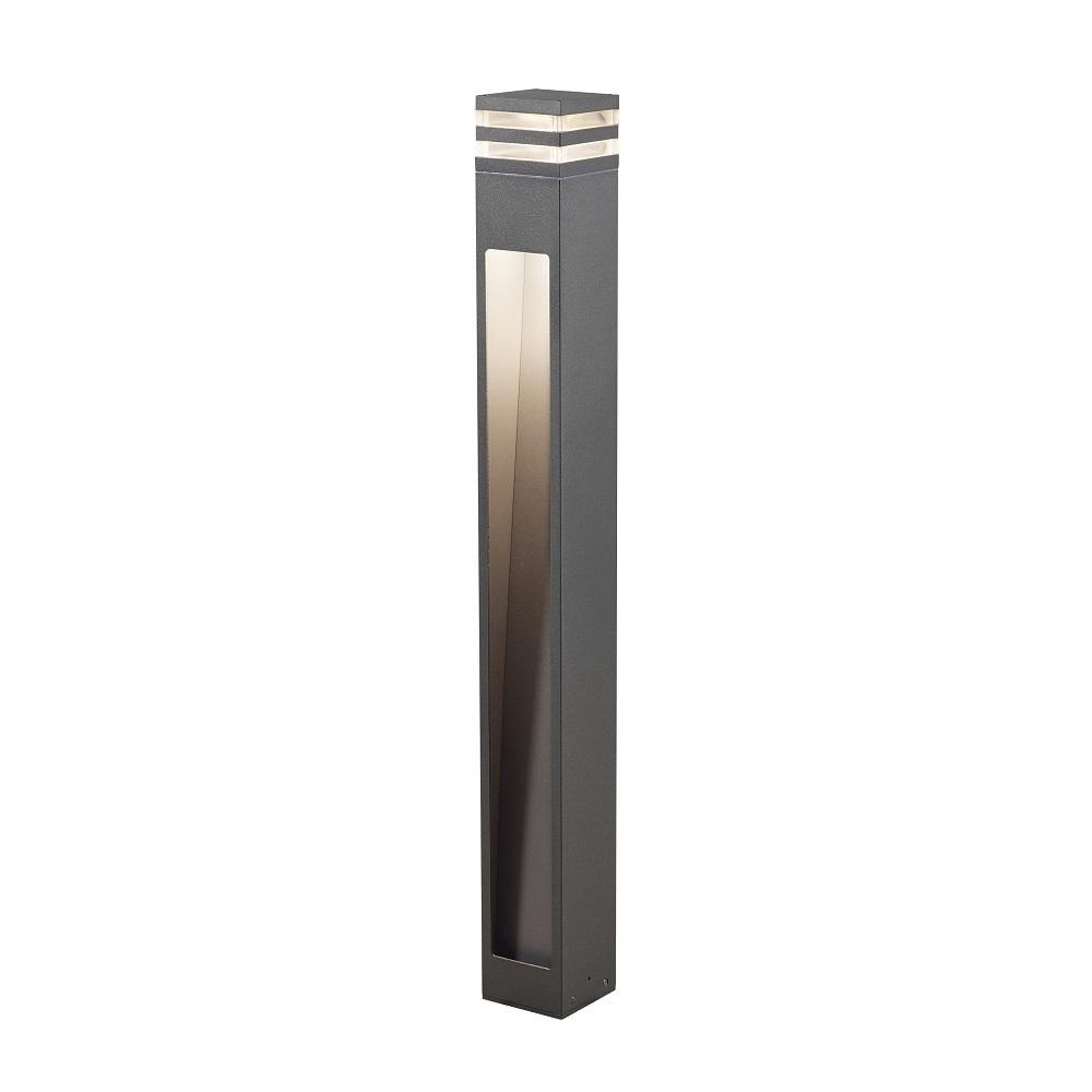 Konstsmide LED Wegeleuchte Massa aus Aluminium in Schwarz 7945-370 | Lampen > Aussenlampen > Sockelleuchten | Konstsmide