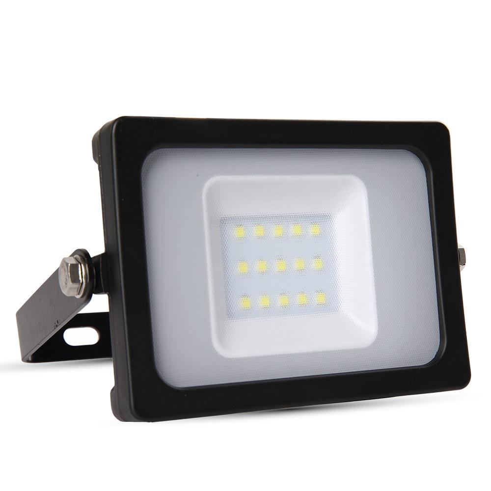 LED-Außenwandfluter schwarz