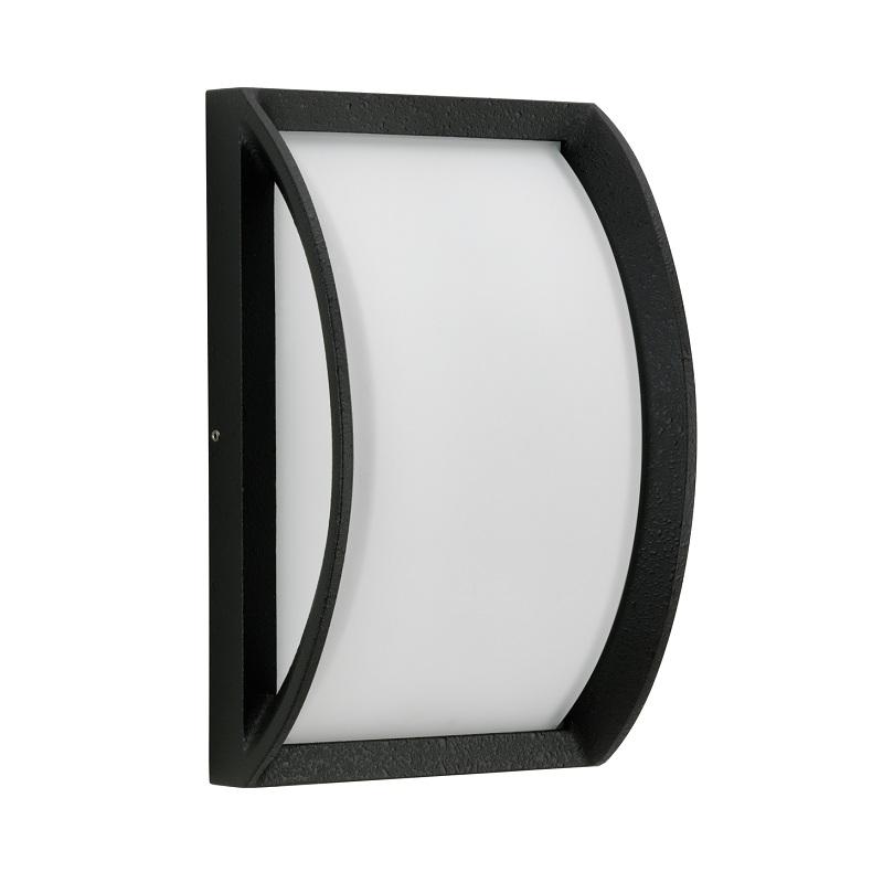 Albert LED-Außenwandleuchte 21 x 21cm, Schwarz,...
