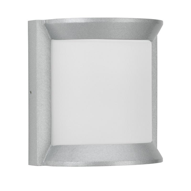 Albert LED-Außenwandleuchte 21 x 21cm, Silber, ...