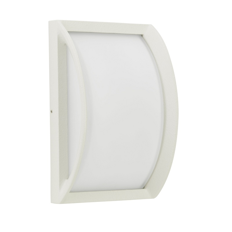 Albert LED-Außenwandleuchte 21 x 21cm, Weiß, 1x...