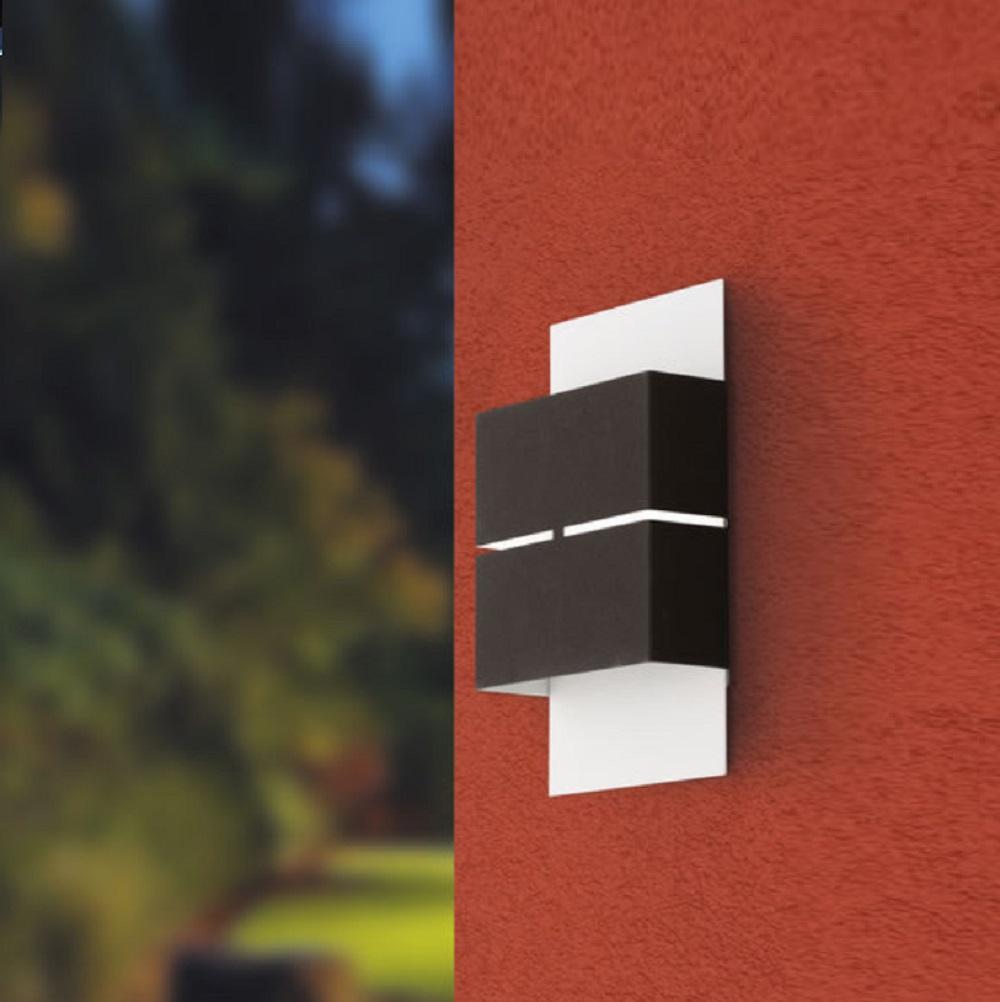 LED-Außenwandleuchte Kibea Up&Down, zwei Oberflächen wählbar