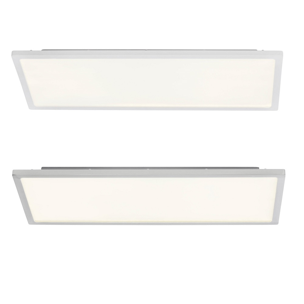 LED-Aufbau-Panel Ceres 45 x 20 cm - Weiß oder Nickel satiniert