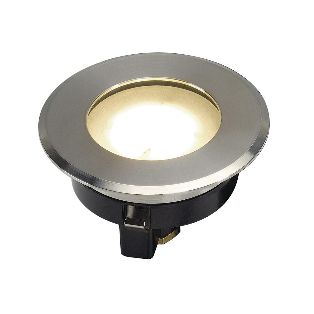 LED-Bodeneinbaustrahler Dasar Flat 80 gebürstet