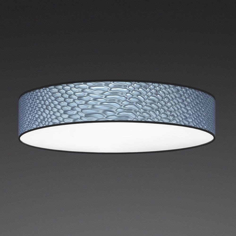 LED-Deckenleuchte 3D Folie anthrazit, 4 Größen, dimmbar