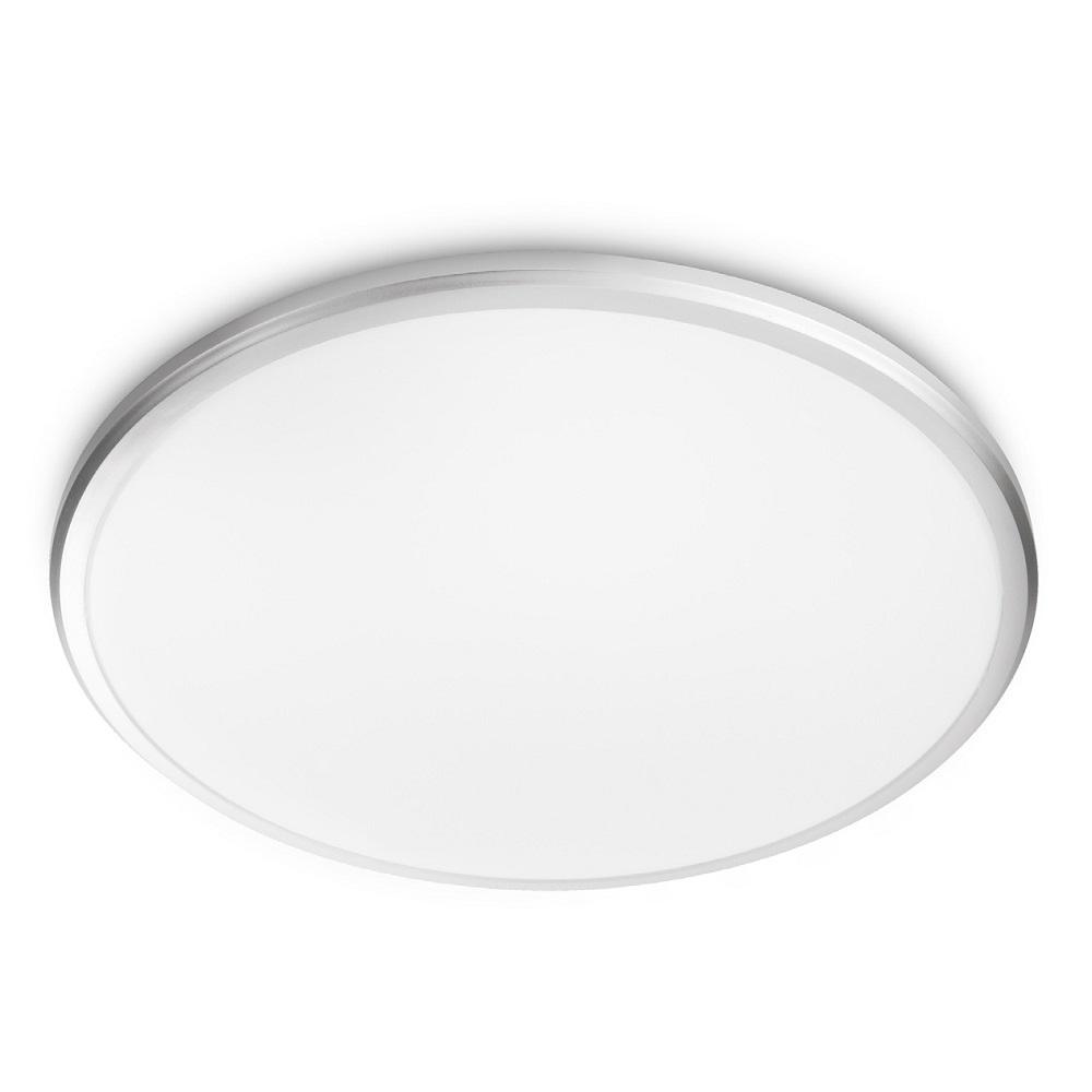 LED-Deckenleuchte in grau, 35 cm, mit 17W LED