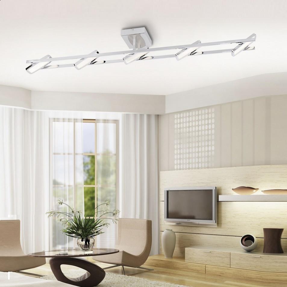 LED-Deckenleuchte IIona Chrom 5 x 4,6 W LED