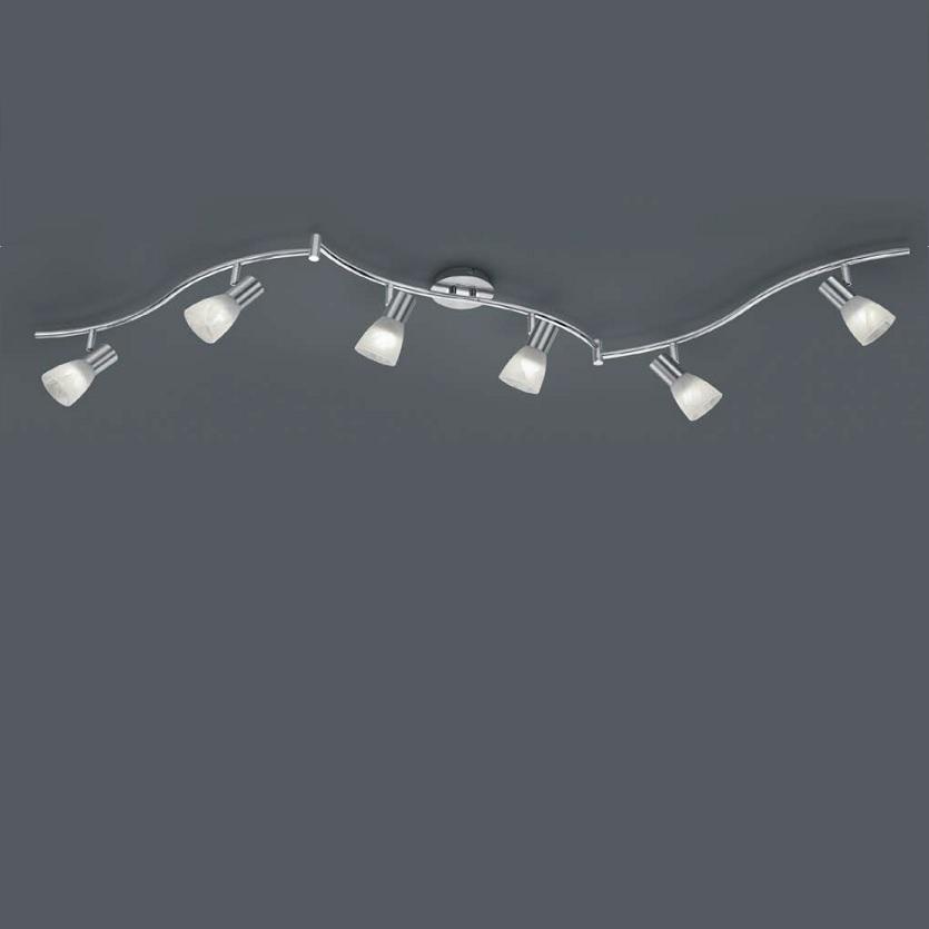 Trio LED-Deckenstrahler Levisto - 6-flammig, Ni...
