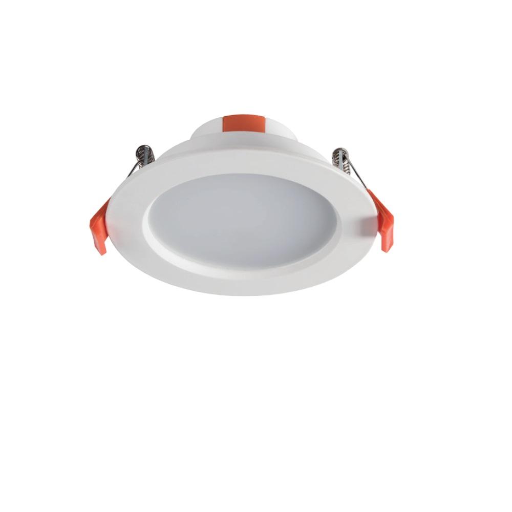 LED-Downlight, Einbauleuchte, rund, warmweiß, D=112mm