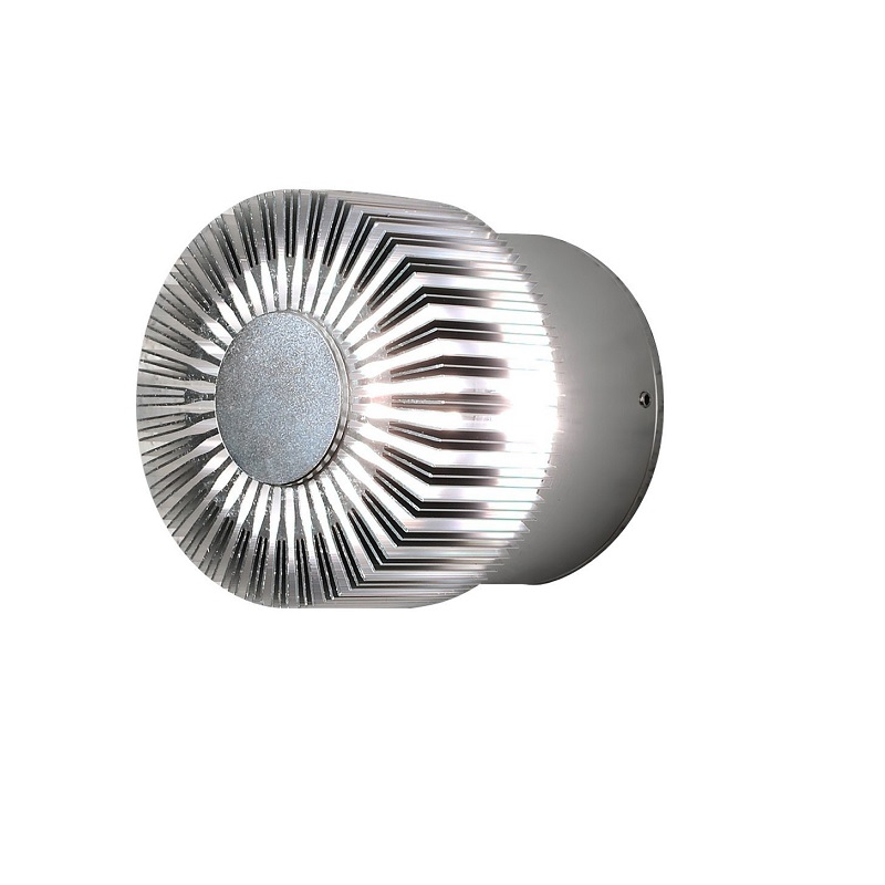 Konstsmide LED-Effektleuchte Aluminium aluminiumfarben 7900-310 | Lampen > Aussenlampen > Sockelleuchten | Aluminium | Konstsmide