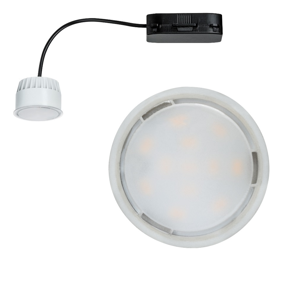 LED-Einbauleuchte Coin, 1x6,8 W satiniert