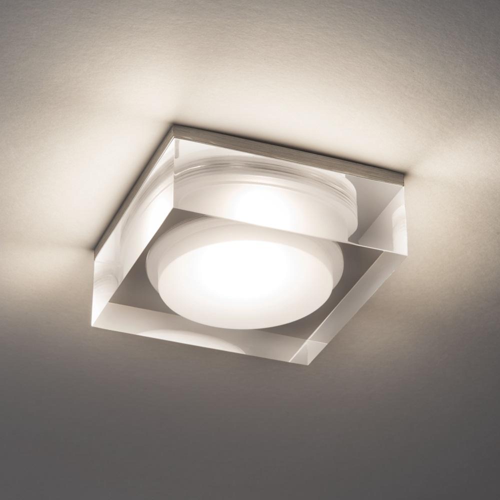 Illumina - Astro LED-Einbaustrahler aus Glas, 9,8 Watt LED dimmbar - IP44 A-5698   Lampen > Strahler und Systeme > Einbaustrahler   Glas   Illumina - Astro