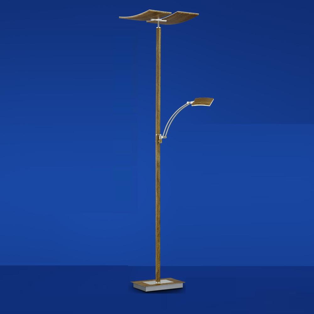 LED-Fluter Duo mit Holz  von B-Leuchten
