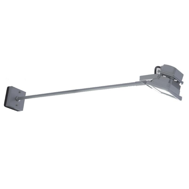 LED-Fluter mit Wandausleger 4300 Kelvin