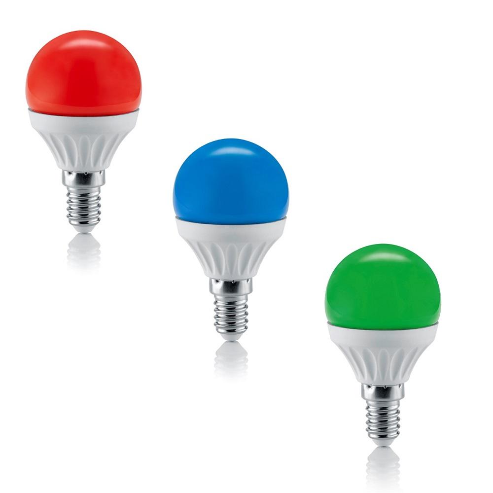LED-Leuchtmittel E14, 4 Watt 3000K 200 Lumen, nicht dimmbar