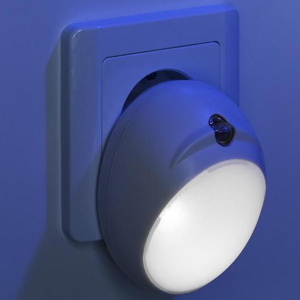 IBV LED-Orientierungsnachtlicht mit Dämmerungssensor 999101-100 | Lampen > Kinderzimmerlampen | Weiß | IBV