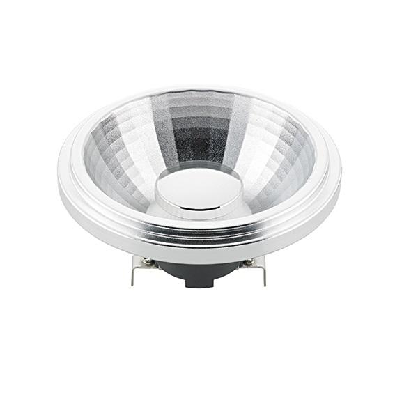 LED-Reflektorlampe AR111 12V, 12W, 800lm, 24° Abstrahlwinkel - 3000 Kelvin