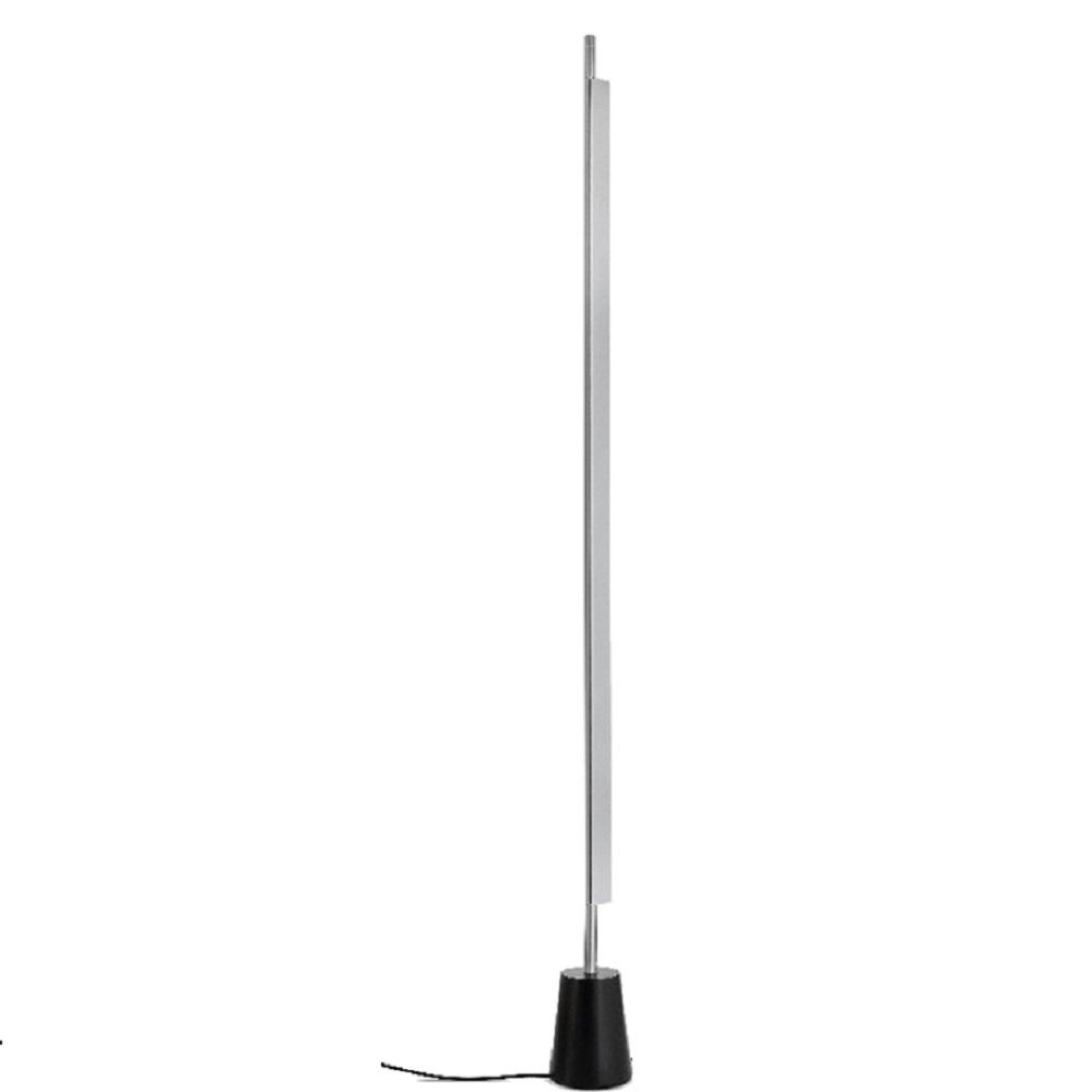 LED-Standleuchte Compendium von Luceplan Aluminium