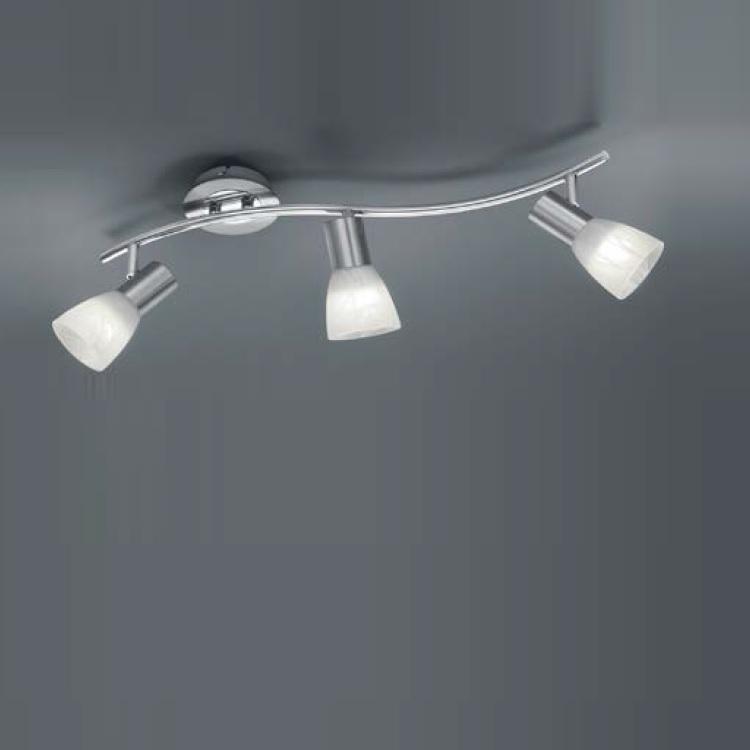 Trio LED-Strahler für Wand oder Decke - 3-flamm...