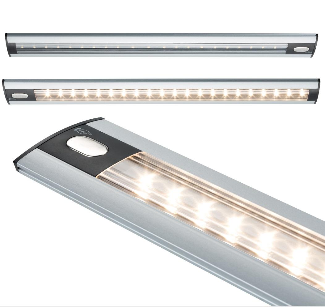 LED-Unterbauleuchte mit Touchschalter, 3 Längen