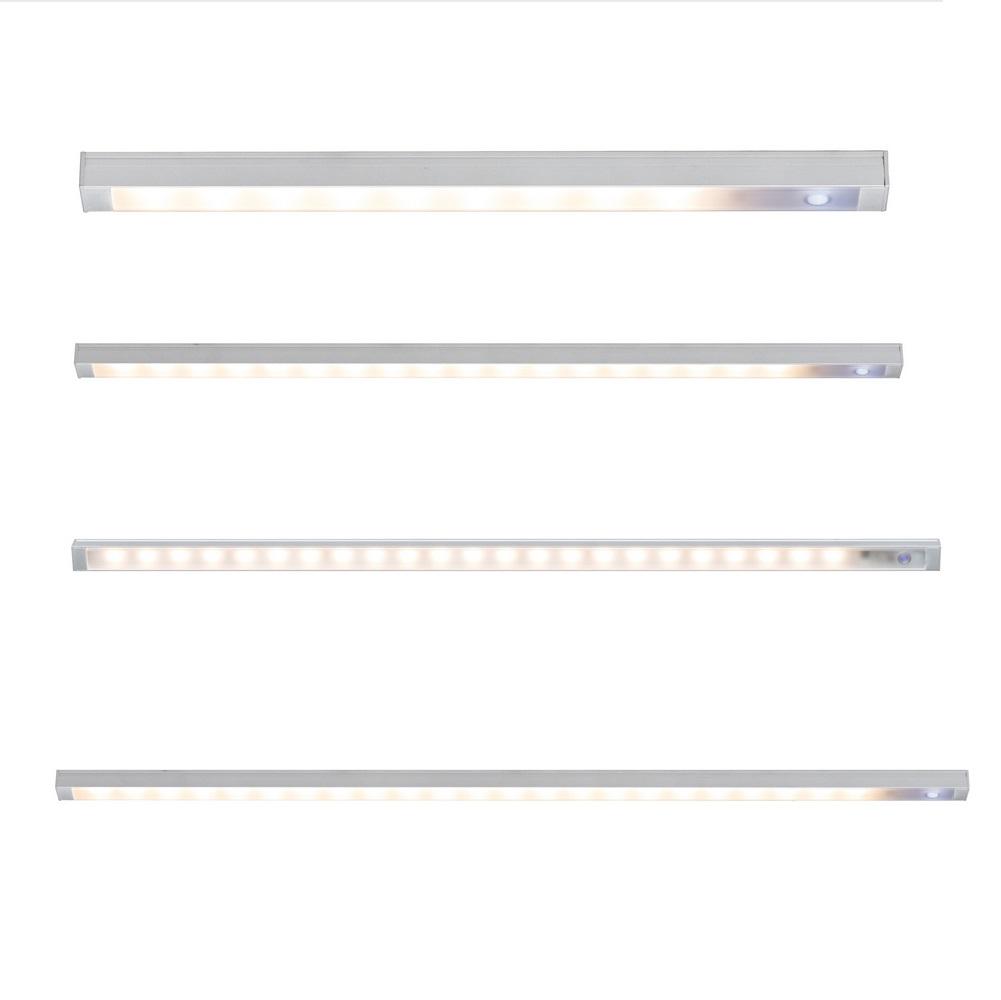 LED-Unterbauleuchte mit Touch-Schalter, vier Längen