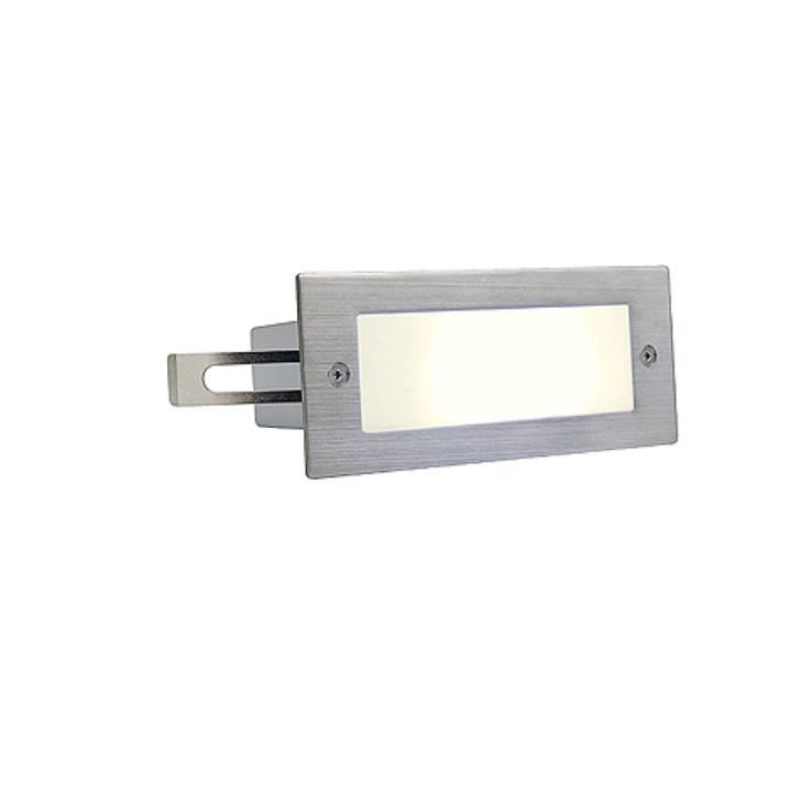 LED-Wandeinbauleuchte, IP44, 1 Watt Warmweiß