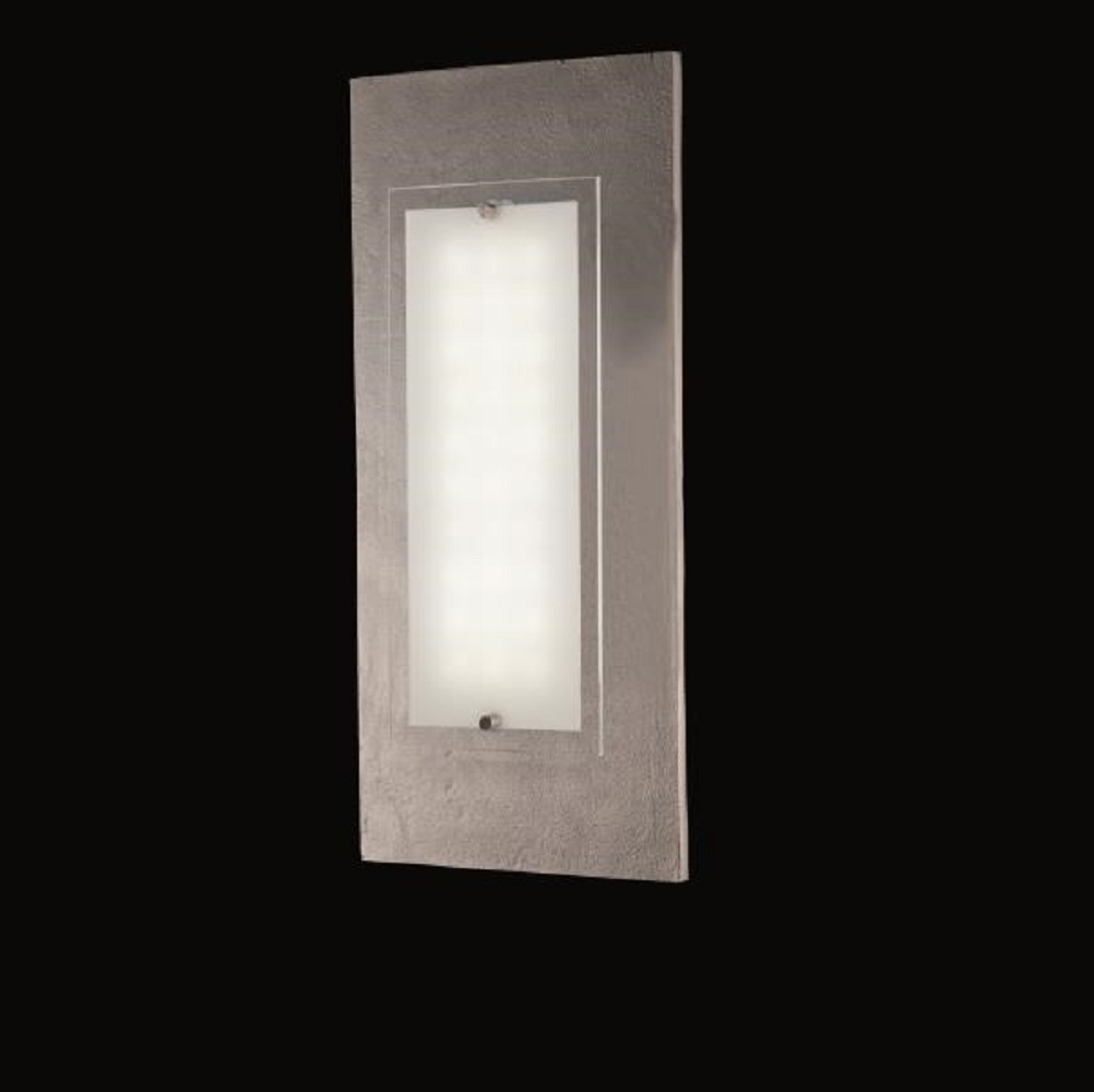 LED-Wandleuchte 11,1W LED - Decor-Blende Nickel-Antik